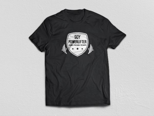 Camiseta Soy Powerlifter