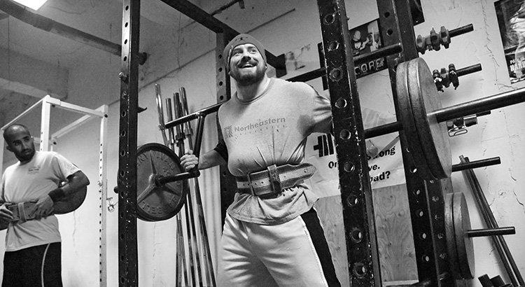 uso del cinturón en el gimnasio