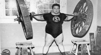 Paul Anderson, el hombre más fuerte del mundo