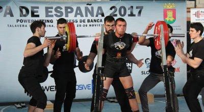 Copa de España de Powerlifting 2017 – Talavera de la Reina