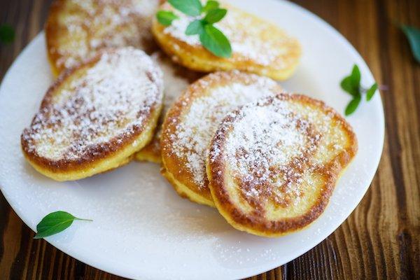 Tortitas de calabaza proteicas