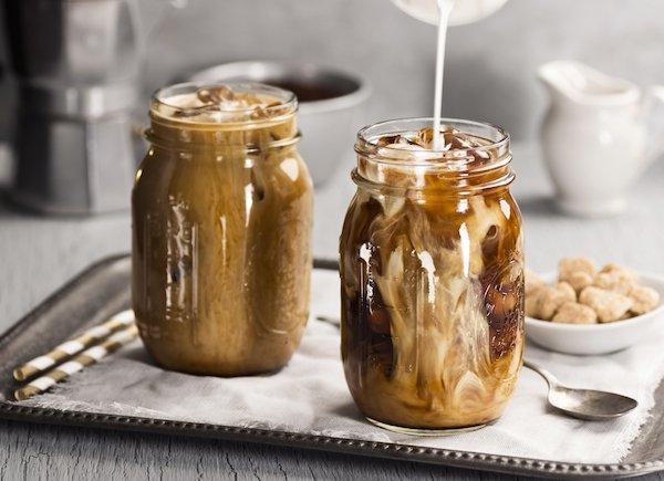 Café helado proteico