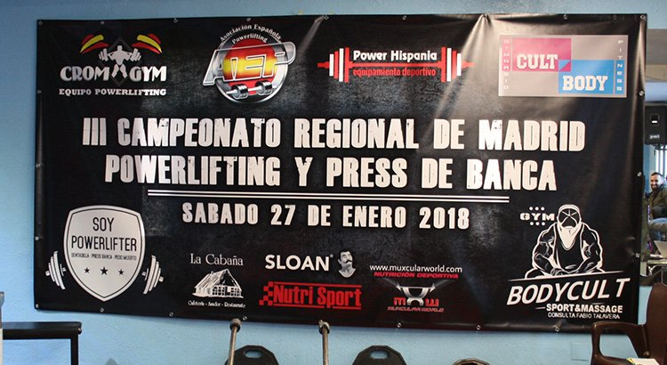 Campeonato Madrid Powerlifting 2018