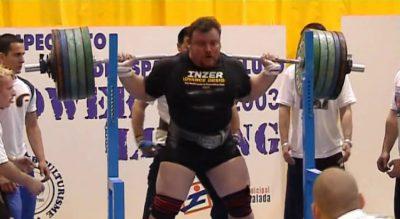 Ramón Torregrosa, leyenda del Powerlifting español
