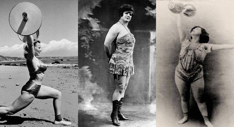 Mujeres pioneras en el entrenamiento de fuerza