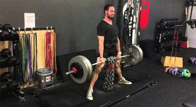Peso muerto con cadenas, lo que la ciencia dice