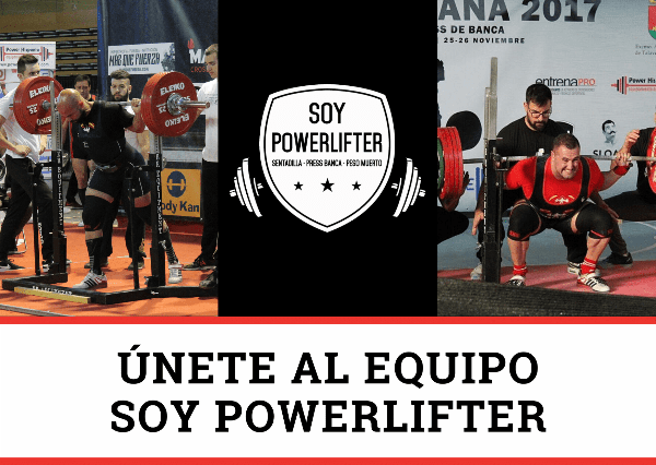 Equipo Soy Powerlifter