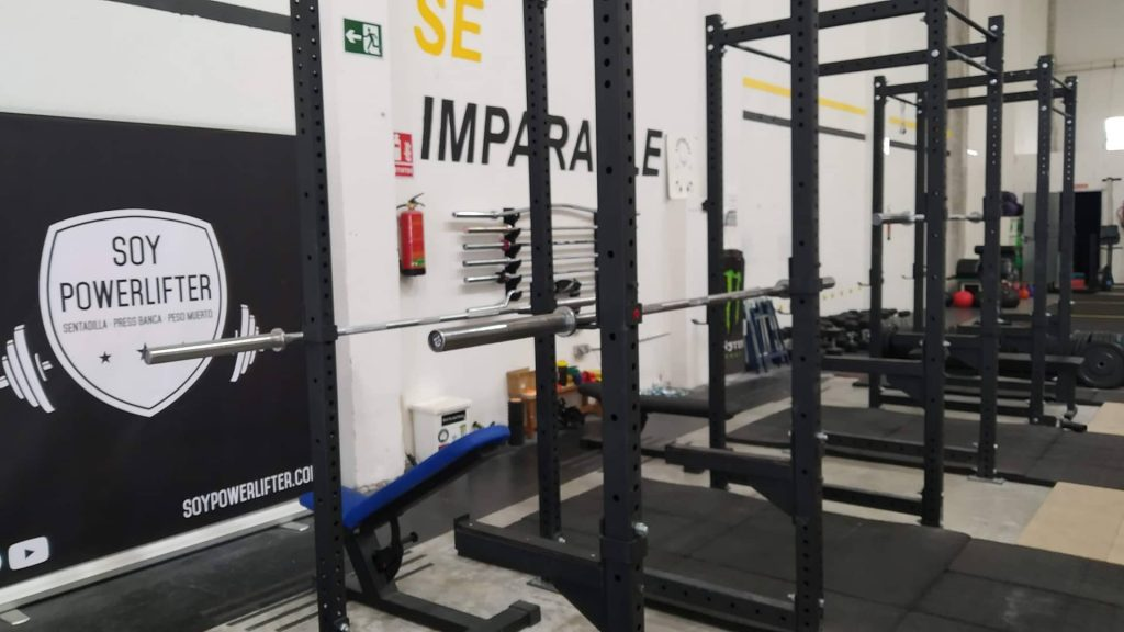 gimnasio powerlifting madrid