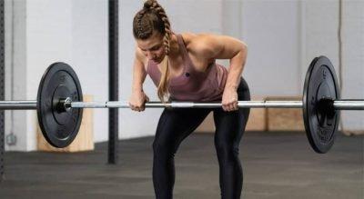 Remo con barra: técnica y beneficios